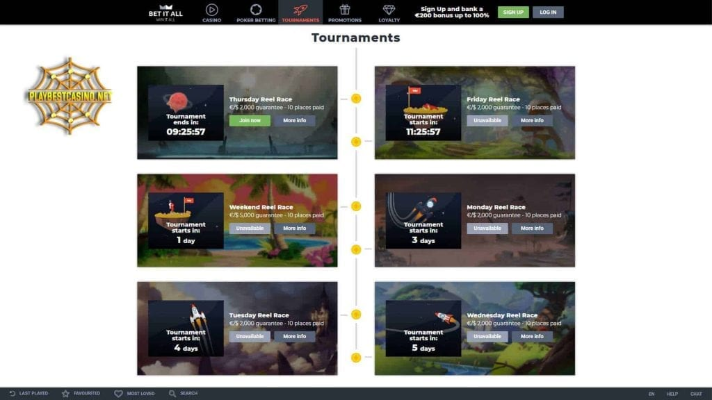 Betitall casino can be seen in this image.