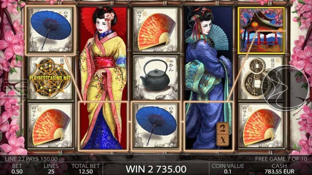 Golden Star Casino Geisha Big Win CAN BE SEEN IN HERE