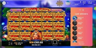 Pragmatic big wins (Fairytale fortune) can be seen in this image. Большой выигрыш от Pragmatic ПРЕДСТАВЛЕН НА ДАННОМ СНИМКЕ.