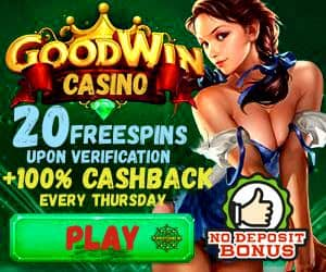 Goodwin casino banner can be seen in this image.
