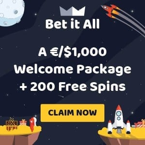 Betitall casino welcome banner can be seen in here. Betitall казино баннер виден на данном фото.