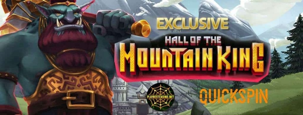 HALL OF THE MOUNTAIN KING game from Quick spin can be seen in this image.