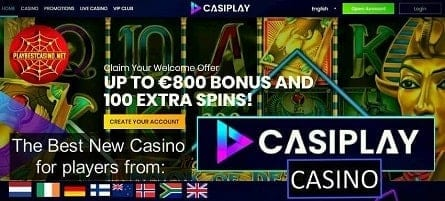 Casiplay Casino (2020): Official Review and Best Bonuses!