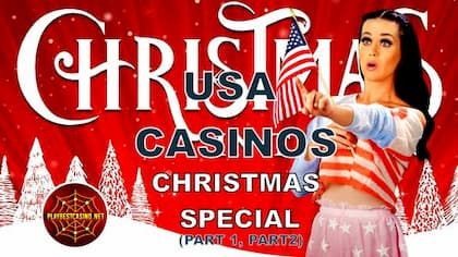American Casinos Get Christmas Bonuses to Up Your Winning (2020) can be on this photo.