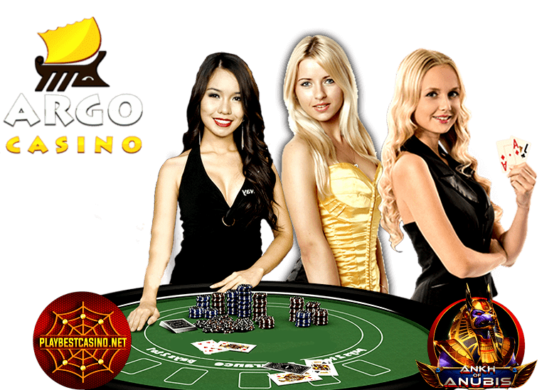 Argo Live Casino is on photo.