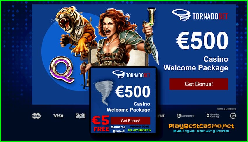 Welcome and Money Bonuses in (promo-code PLAYBEST5) are on photo.