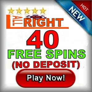 ALL Right casino free spins bonus can be seen on this image.