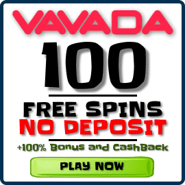 Vavada Casino 100 Free Spins No Deposit Bonus for BalticBet.net is on photo.