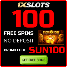 Book of Sun Multichance 100 Free Spins promocode SUN100 are on photo.
