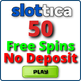 Free Spins without deposit in Slottica Casino for Slotogram.com are on photo.