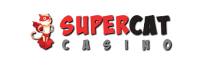 Supercat casino Logo png is on photo.