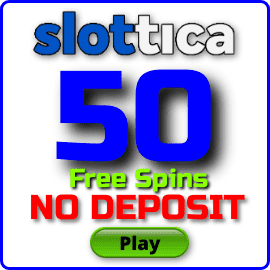 50 free spins for registration at Slottica casinois in the photo.