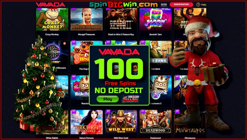 Large Selection of Slot Machines and Providers at Vavada Casino is in this photo.
