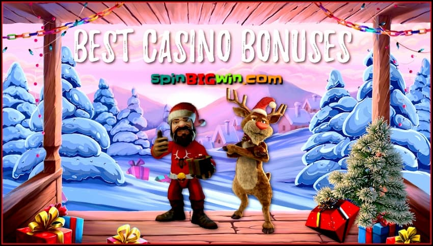 Best casino bonuses from spinBIGwin are in this photo.