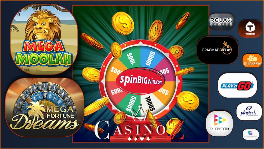 A selection of games and offers at Casino Z pictured.