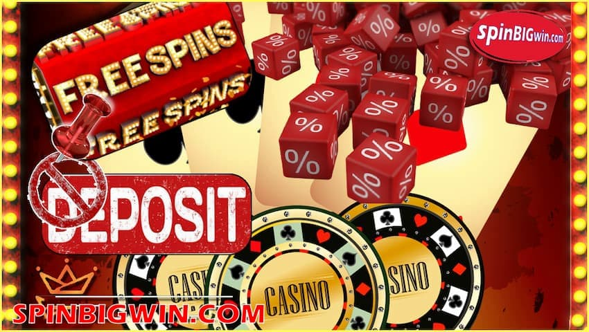 Best Free Spins at the Best Casinos at spinBIGwin.com is pictured.