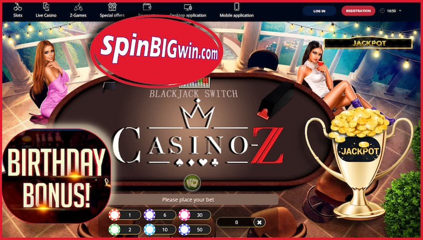 Casino-Z (2021) The Best New European Crypto-Portal pictured!