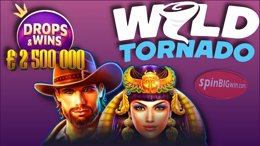 Huge Choice of Providers and Slots at Wild Tornado Casino are in this photo.