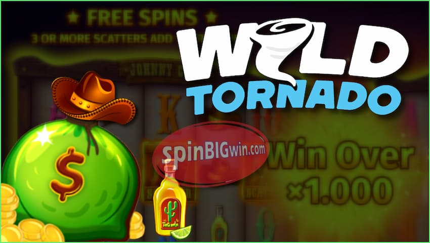 Wild Tornado Casino Bonuses, Promotions & Gifts for readers of SpinBigWin.com are in this photo.